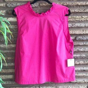 Laundry by Shelli Segal Hot Pink Sleeveless Top